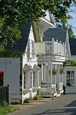 a quaint new england storefront in provincetown massachusetts