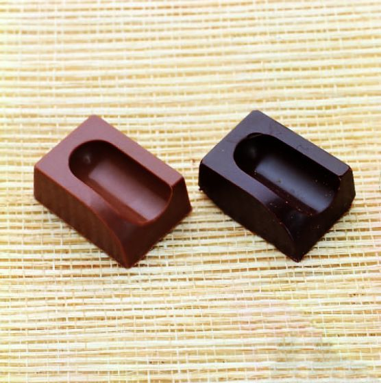 Pencil-Top Marked Rectangular Chocolate Mould