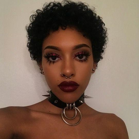 Black Girls R Magic  Black Girl Makeup, Punk Makeup -9950