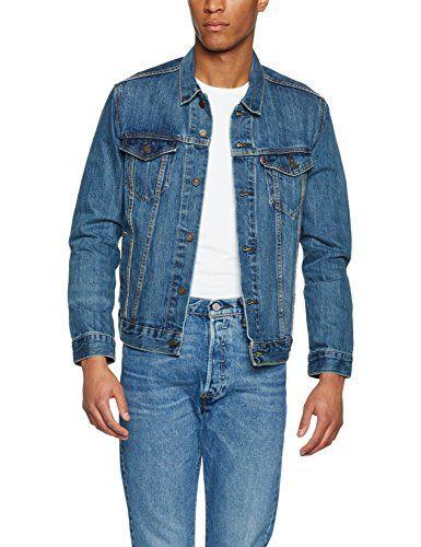 Levi's Jacket Chaqueta The Trucker the Azul 0136 Large Para Vaquera Shelf Hombre tqaqrEw