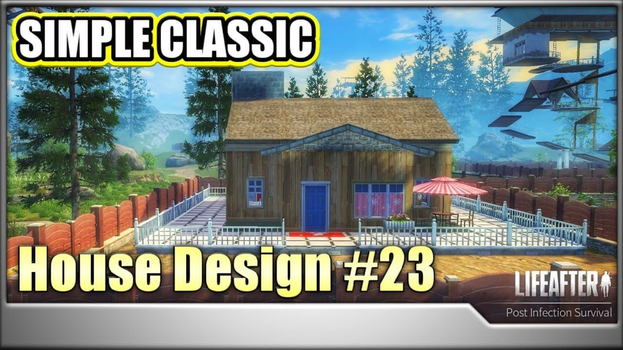 Lifeafter House Design Manor 6 In 2021 Simple House Design Classic House Design House Design