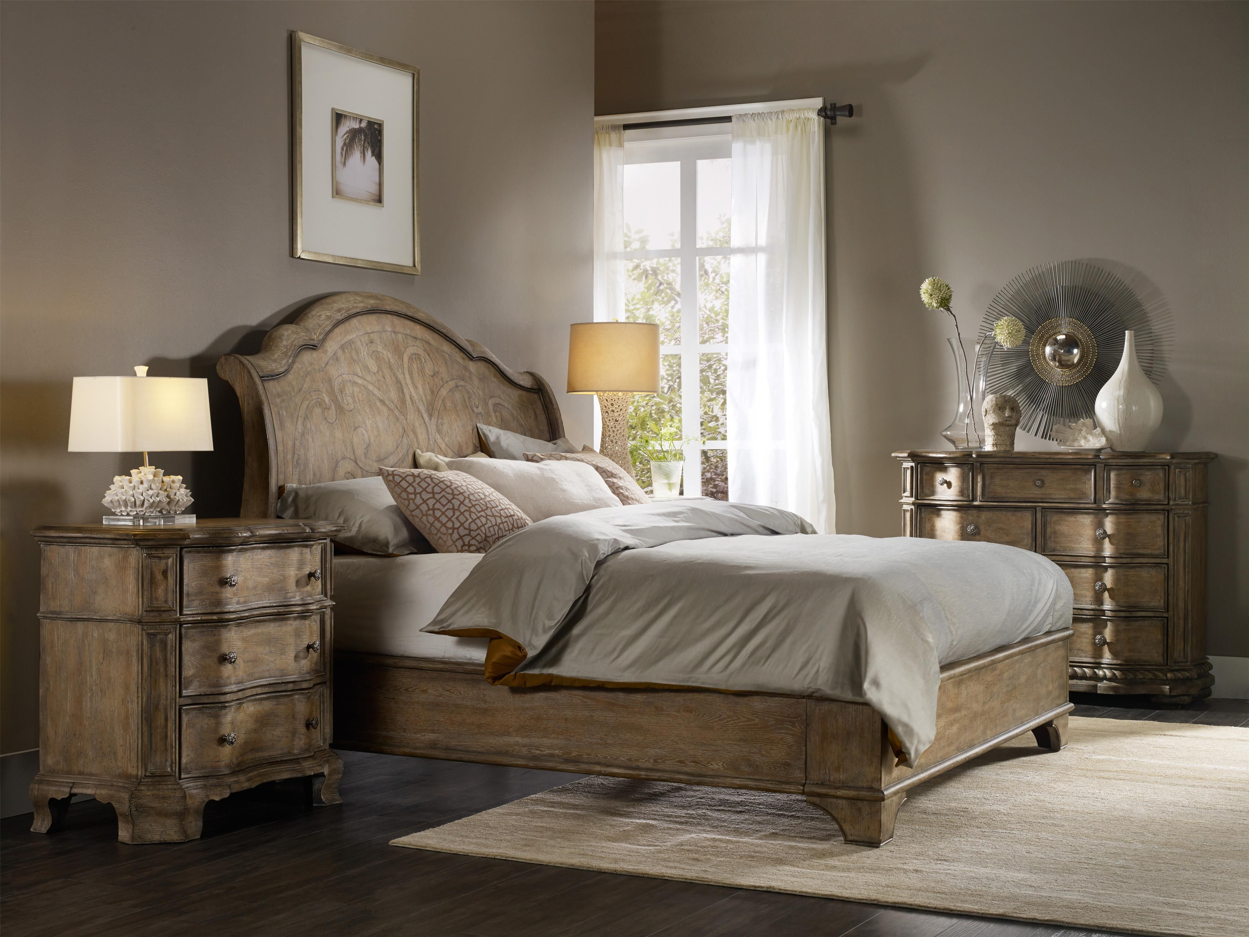 Solana Queen Bedroom Group 3 by Hooker Furniture   New house ...