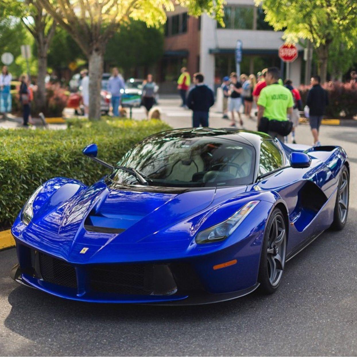 Ferrari Laferrari Painted In Blu Elettrico Photo Taken By Braydenjoelphoto On Instagram