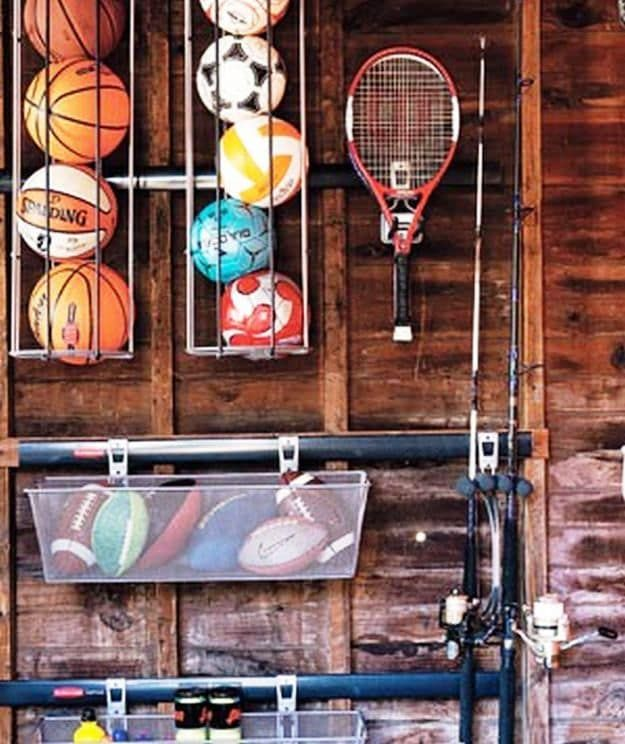 De Clutter Sporting Goods Garage Makeover Ideas Worth Exploring This Spring