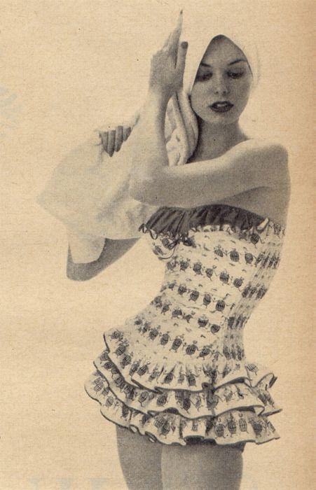 #bathing #bathingsuit #vintageswimwear