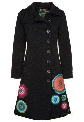 ELISABETH - Pitkä takki - musta