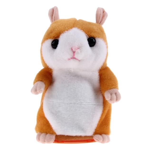 Children Talking Educational Hamster Toy Baby Plush Toys