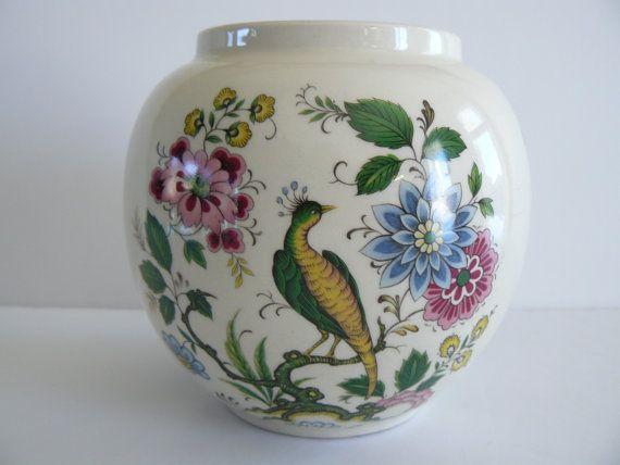 Reserved For Liz Vintage Sadler England Ginger Jar Vintage