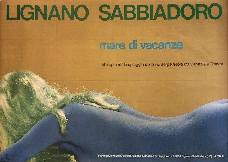 Lignano Sabbiadoro (#Udine) #manifesto #original #poster vintage by ...