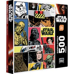 Quebra-Cabeça Star Wars - 500 Peças