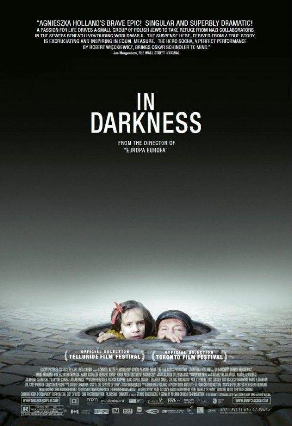 """Cartaz do filme """"In Darkness"""", indicado ao Oscar 2012 na categoria de Melhor Filme em Língua Estrangeira."""