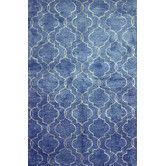 Found it at Wayfair - Wavelength Denim Area Rug