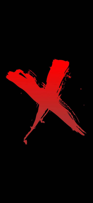 Red X Amoled Wallpaper 1080x2340 Wallpaper Power Wallpaper Wallpaper Downloads