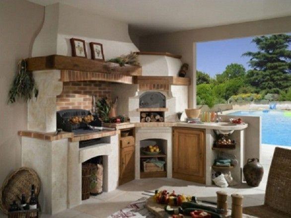 cucina-in-muratura | Home Decor | Cucina in muratura, Cucine ...