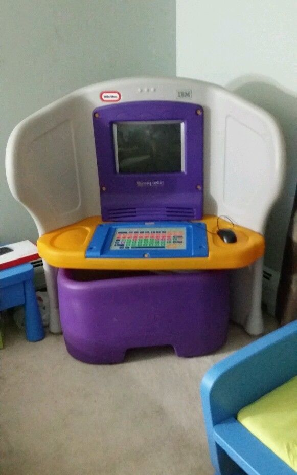 Beautiful Little Tikes Young Explorer Desk And Computer Included Plus Tons Of Software Ideas