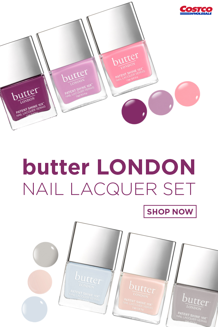 Butter London 3 Piece Patent Shine 10x Nail Lacquer Set Butter London Nail Lacquer Butter London Patent Shine
