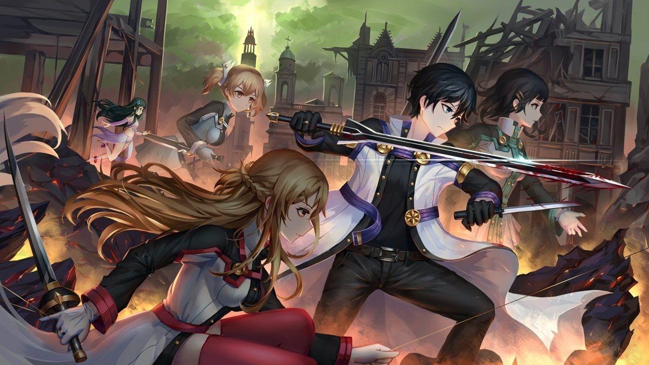 Sword Art Online Ordinal Scale Theme Song (Lyrics) - Break Beat Bark (Su...