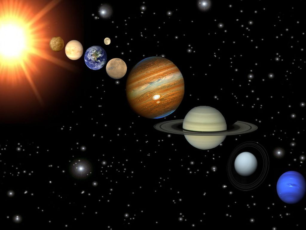 how to make 3d solar system