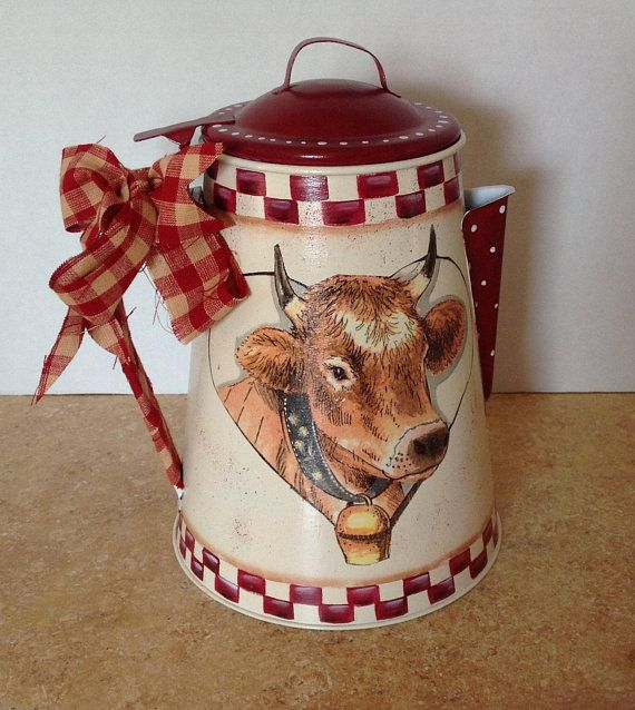 Country Cow Decor