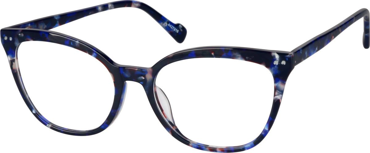 19a32174bc Zenni Womens Cat-Eye Prescription Eyeglasses Tortoiseshell Plastic 4427339