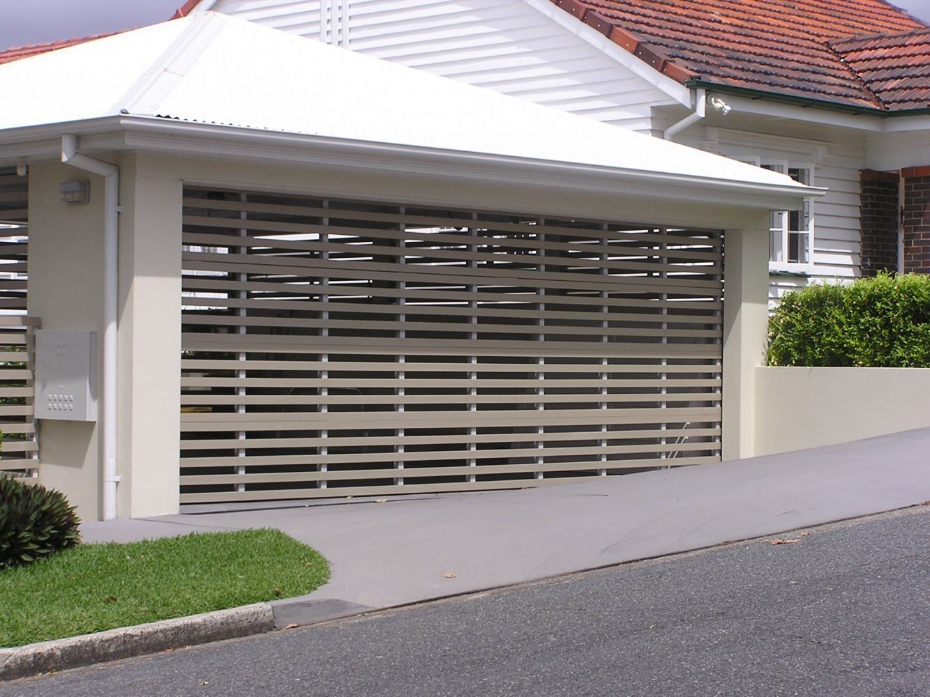 Carports with garage doors google search yard & property spaces