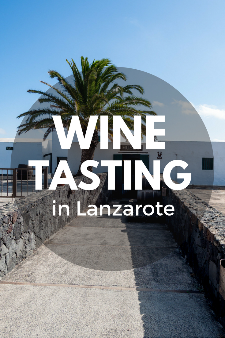 A day learning about winemaking and tasting wine at Bodegas el Grifo in Lanzarote (Spain)
