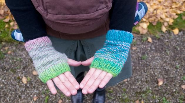 Modèle mitaines gratuites au tricot: modèle express (avec images) | Tricot, Tricot et crochet ...