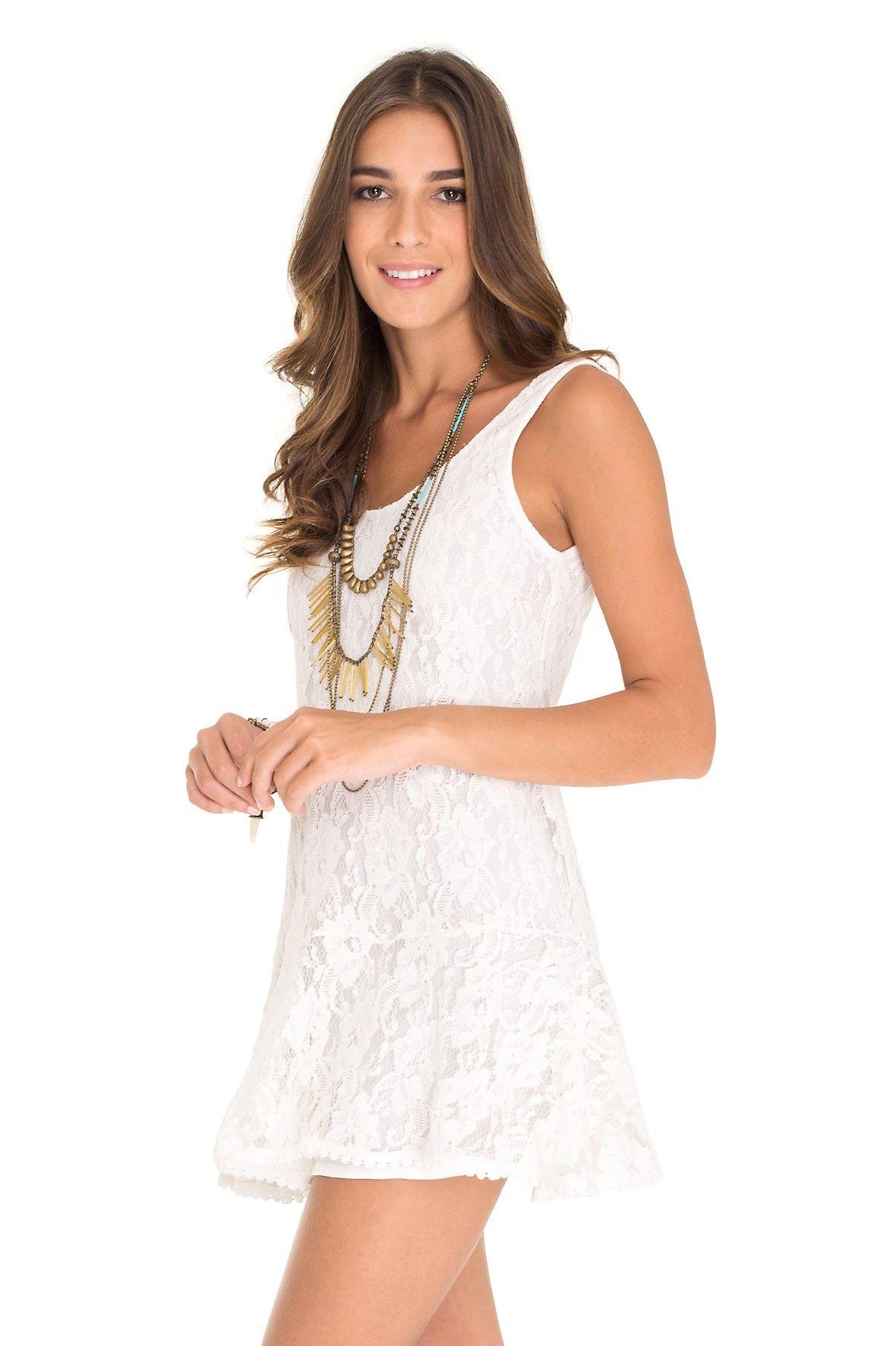 vestido tule floral - Vestidos   Dress to