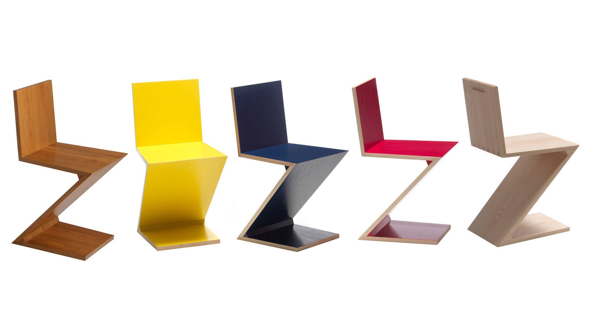 Cassina 280 Zig Zag Design Gerrit Thomas Rietveld Design Sofa