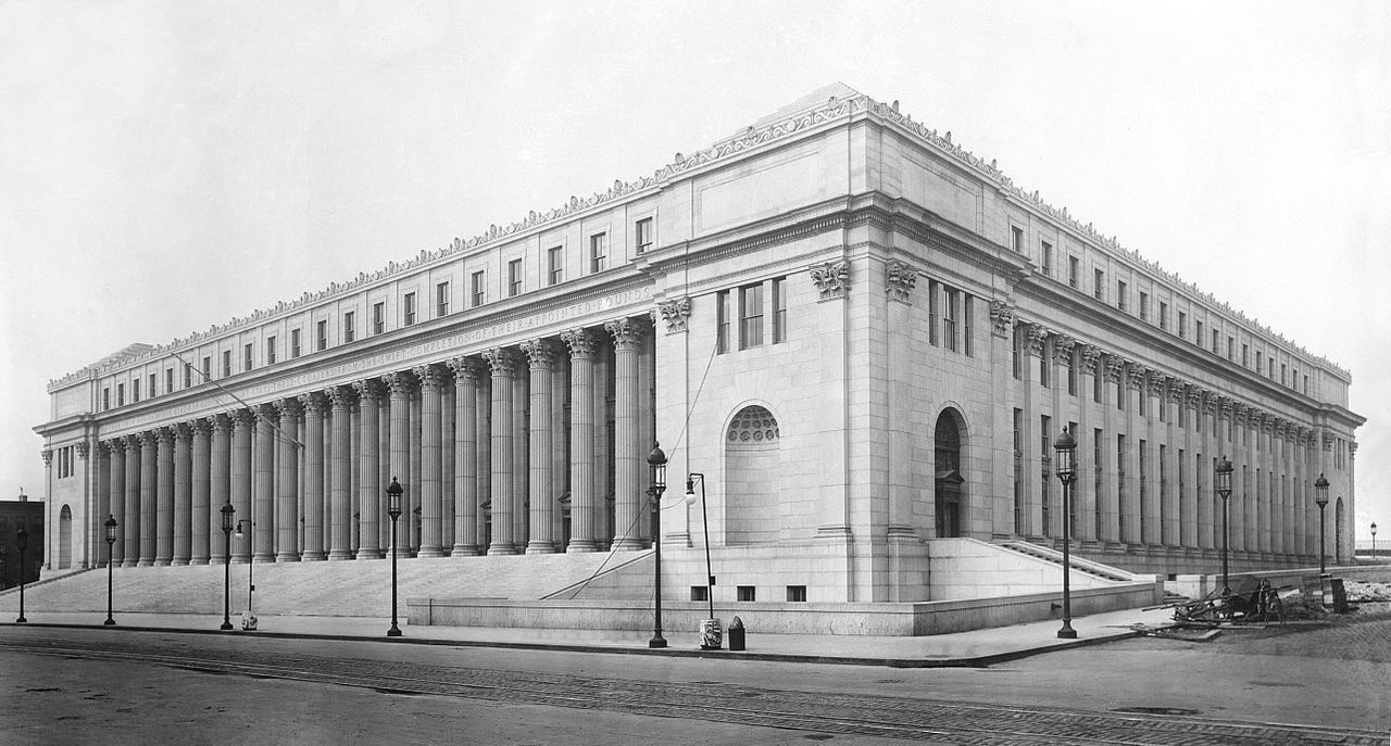 James A Farley Post Office Building Nyc 1912 Mckim Mead
