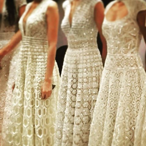 That detailing! We're waiting for Lakme Fashion Week to open with Abu Jani and Sandeep Khosla! The excitement is all around. #LFW #LFW2015 #winterfestive15 #WF15 #AW15 #autumnwinter #abujanisandeepkhosla #fashion #style #fashionstyle #pret #runway #fashionshow #mumbai #lakmefashionweek #lfw #wiwt #Exclusively #Exclusivelyin #Exclusively1st : @abujanisandeepkhosla