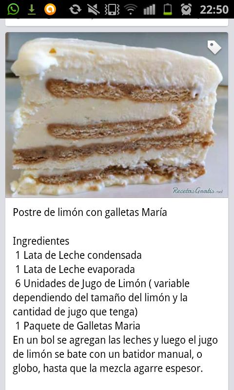 Postre De Limón Con Galletas María 01 Desserts Food Vanilla Cake