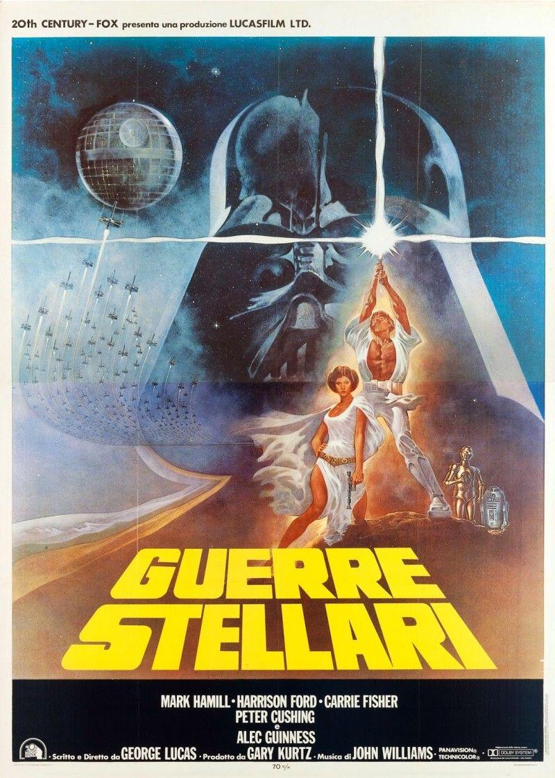 italian star wars poster 1977 | vintage star wars posters