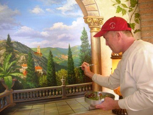 Tuscan Dining Room Idea Garrett McCarthy