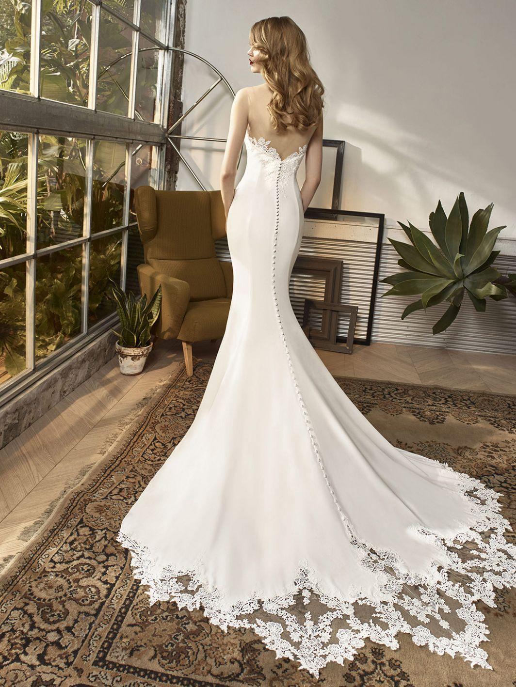 Bt18 30 Back Wedding Dresses Enzoani Wedding Dresses Wedding Dress Shopping [ 1418 x 1064 Pixel ]