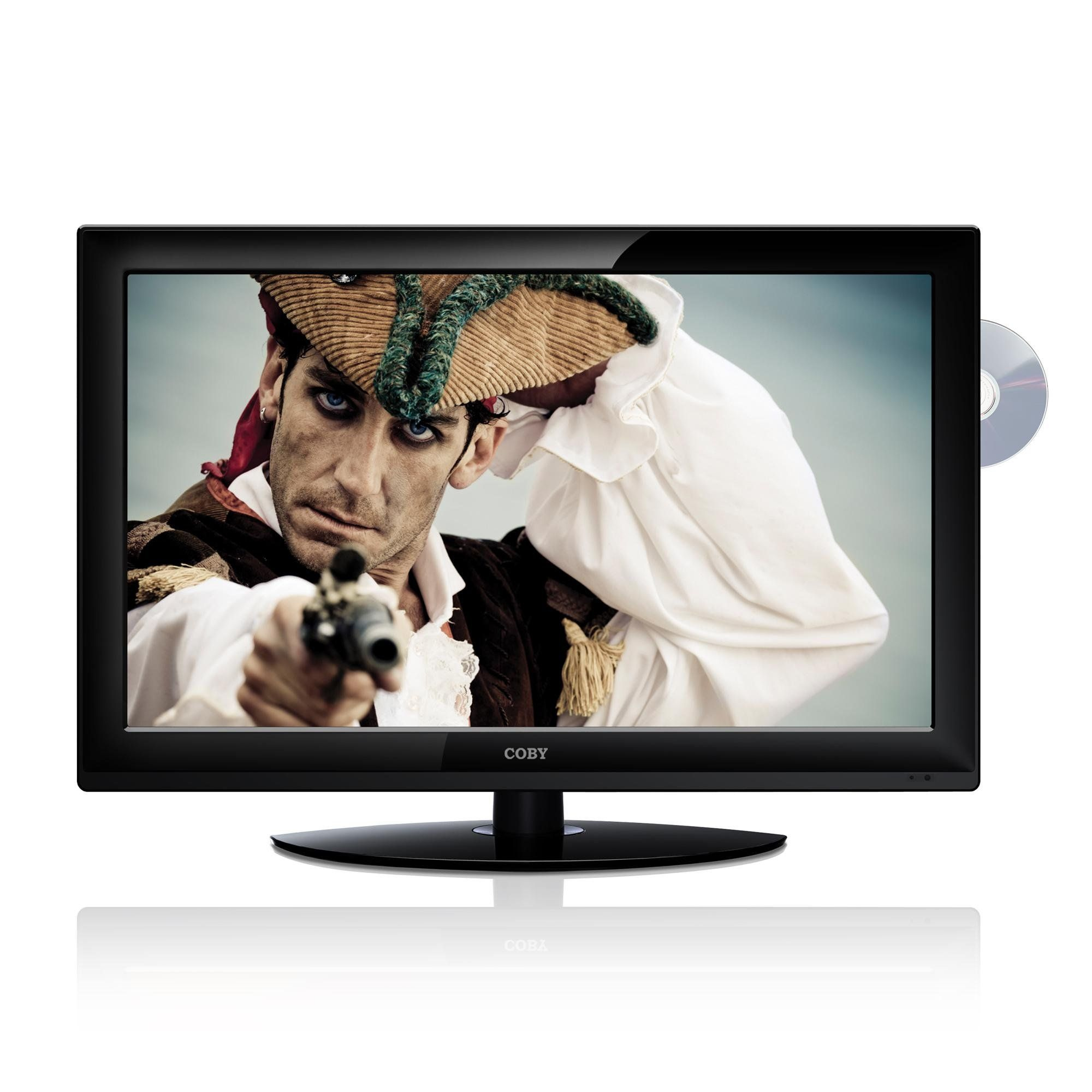 Coby TFDVD3299 32-Inch 720p 60Hz Widescreen LCD HDTV