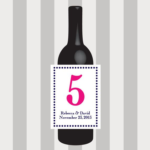 Circle Table Number Wine Labels, Wedding Wine Label, Custom, Personalized, Label, Place Cards, Sticker, Party, Favor, Decoration, Decor by DesignsByTenisha, $1.50