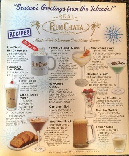 Pin by Mama on Getchya drink on!  Rumchata recipes, Rumchata