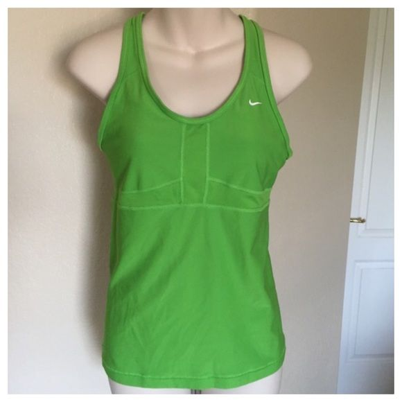 0928eddd73ea1 ♧ Nike dri-fit bright green sports bra tank top M This is a Nike ...