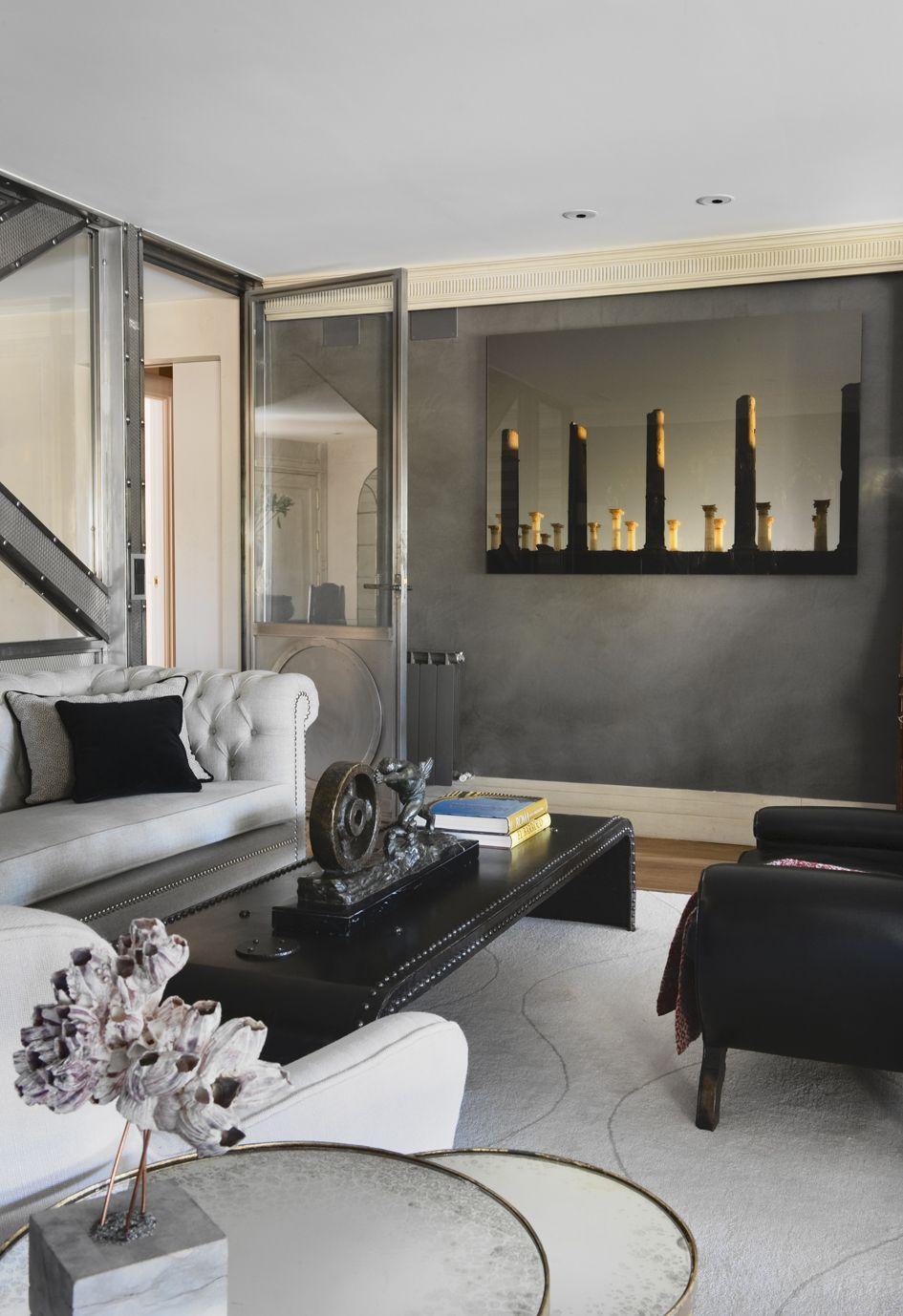 Proyecto 6 luisa olaz bal estudio de interiorismo - Interiorismo salones ...