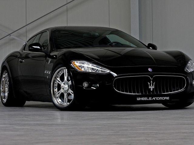 Maserati Granturismo W Custom Wheels Maserati Granturismo Black Maserati Maserati