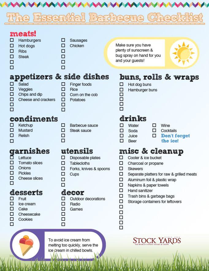 bbq party food list halloword co