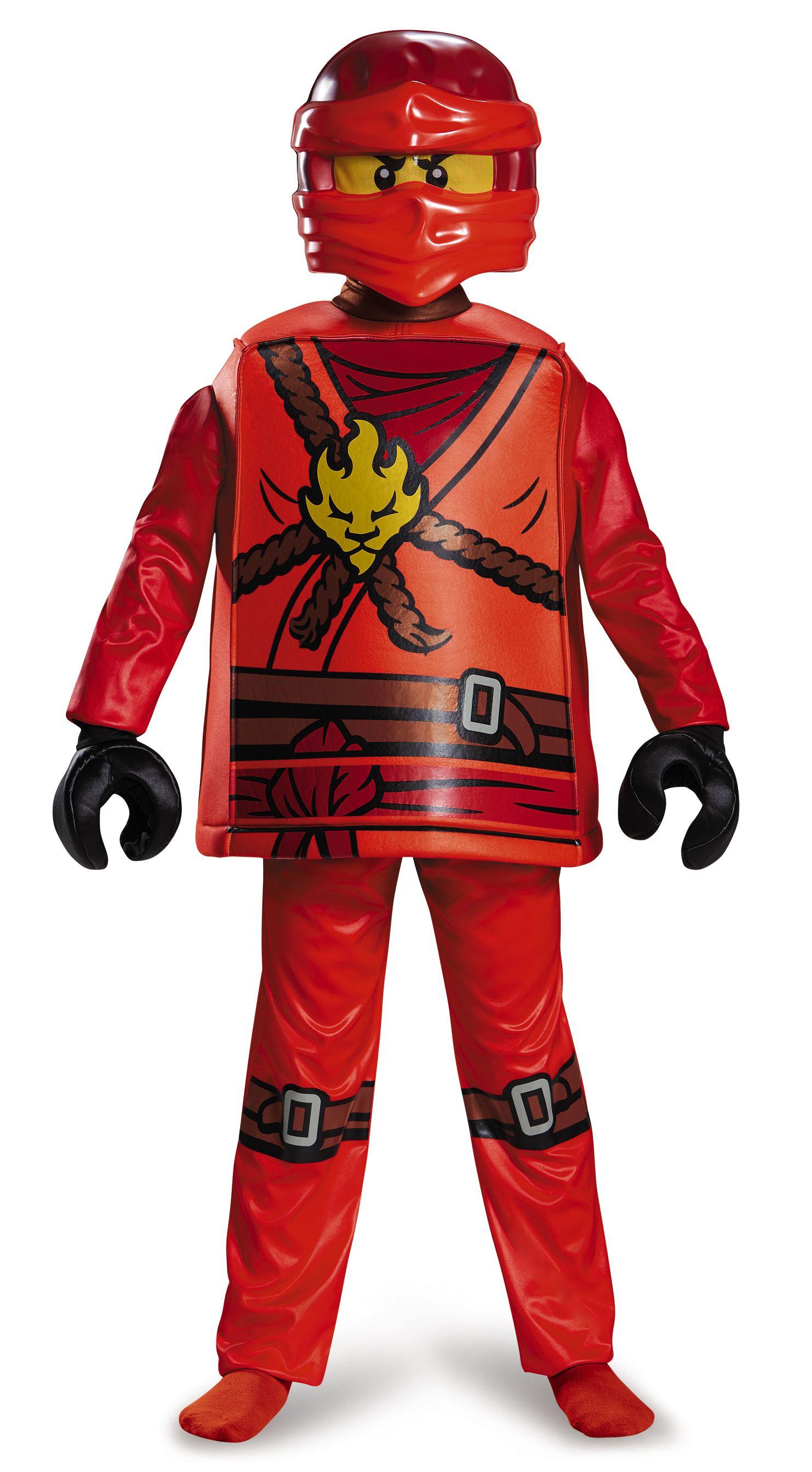 4-6 Years LEGO Ninjago Movie Kai Classic Costume