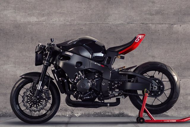 RocketGarage Cafe Racer Huge MOTO Custom Motorcycle Kit