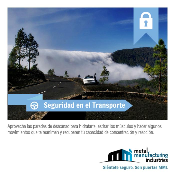 ¡Que tengas un excelente inicio de semana! El tip de #Seguridad en el Transporte de hoy ayudará a que llegues sano y salvo a tu destino.
