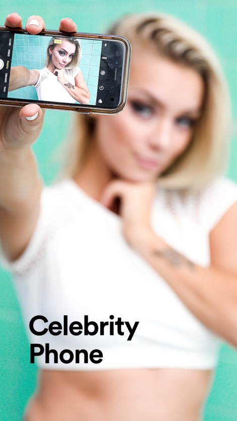 iPhone] Celeb Phone for Fake Facetime (99c to Free) | Free