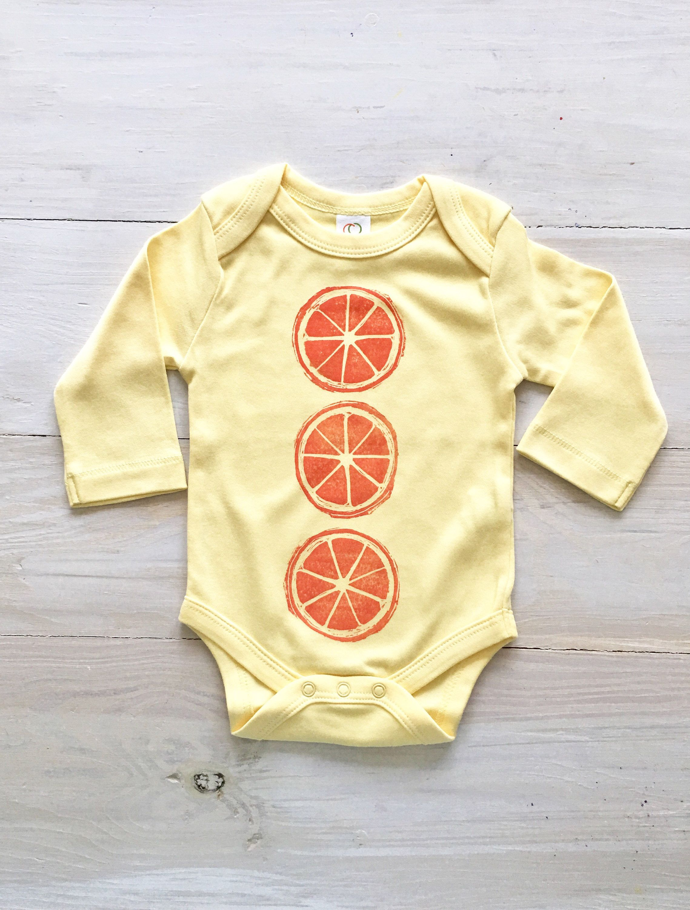 Vegan baby clothes baby onesie organic clothing tropical baby girl