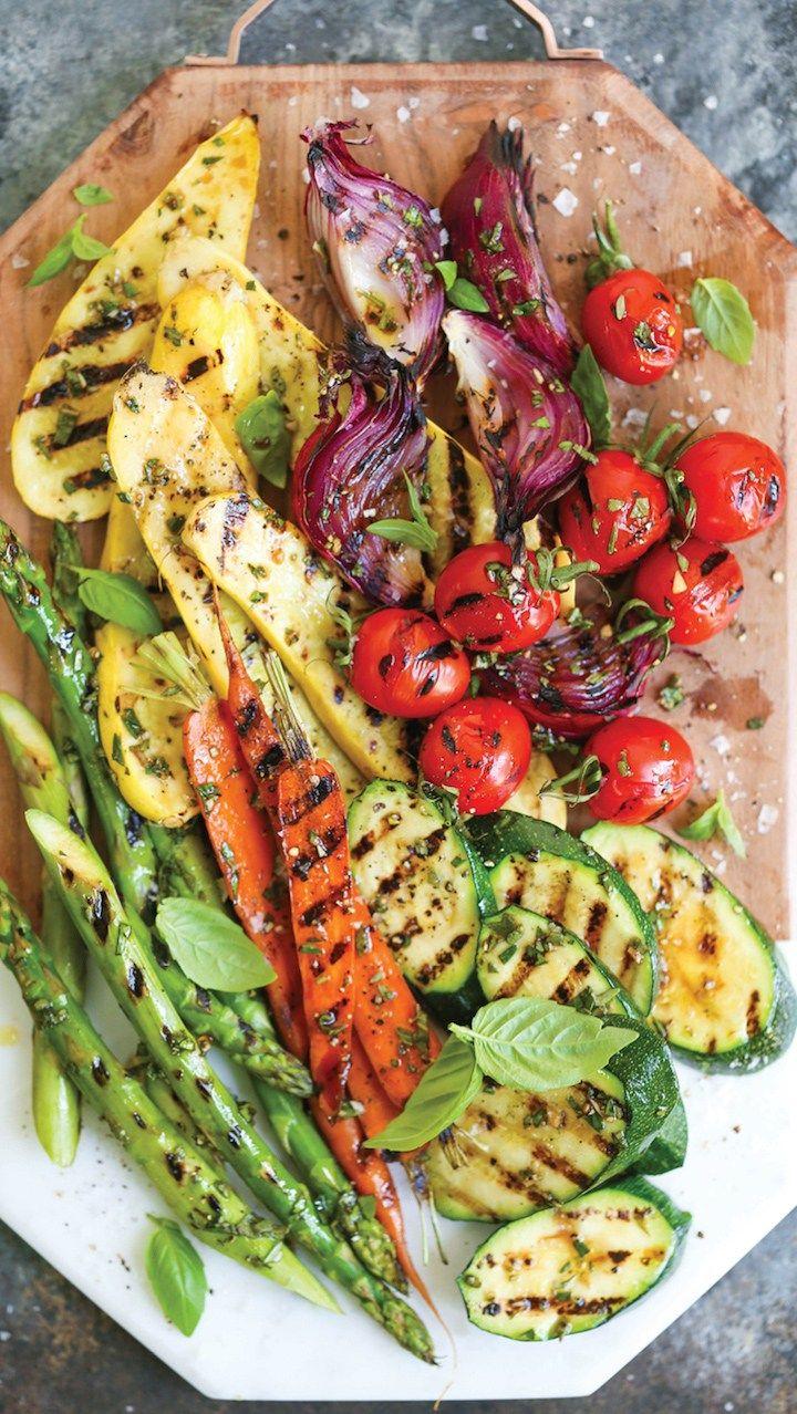 7 Farmer's Market Inspired Recipes Grilled dinner