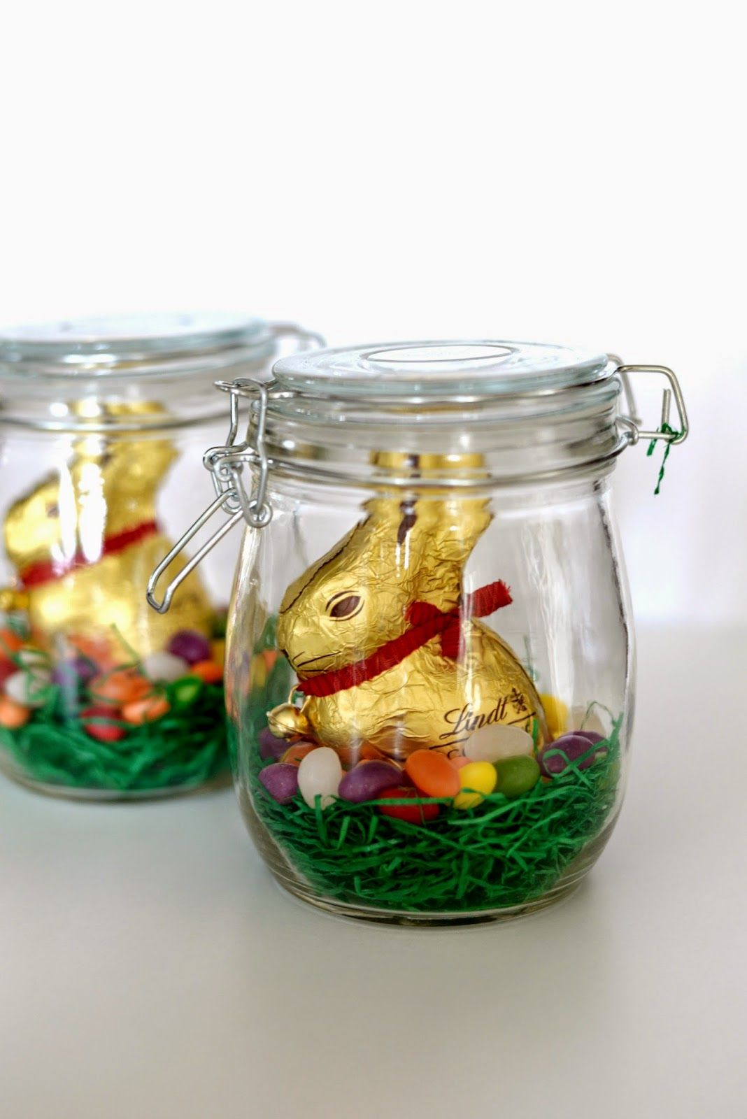 Osternest im glas geschenkverpackung pinterest easter easter stuff negle Gallery