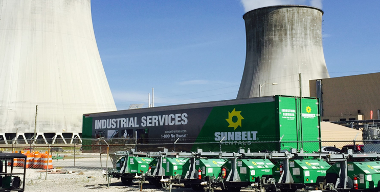 Sunbelt Rentals Industrial Services Division Provides Specialty